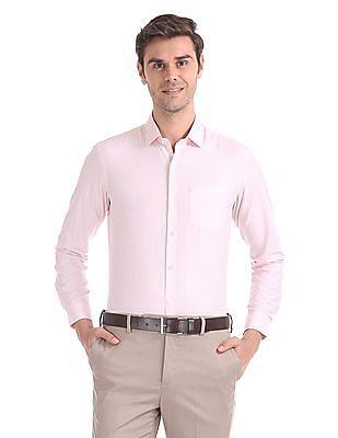 Arrow Newyork Snug Skinny Fit Stripe Shirt