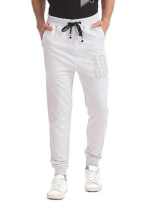Aeropostale Regular Fit Heathered Joggers