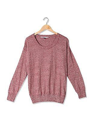 U.S. Polo Assn. Women Regular Fit Patterned Sweater