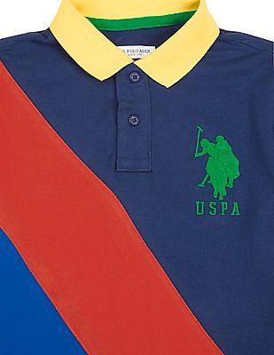 4bf84e9a85 Buy Boys Boys Colour Block Pique Polo Shirt online at NNNOW.com