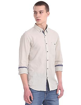 Cherokee Contemporary Regular Fit Striped Shirt