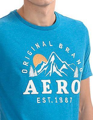 Aeropostale Regular Fit Embroidered T-Shirt