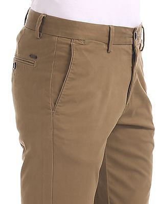 U.S. Polo Assn. Austin Trim Regular Fit Solid Trousers