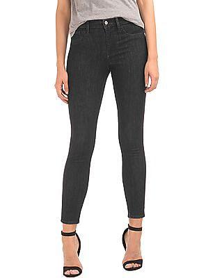 GAP Women Black Mid Rise Legging Jeans