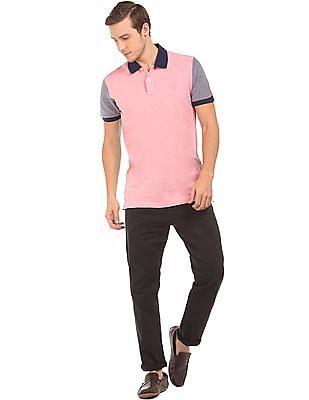 Gant Colour Block Pique Polo Shirt