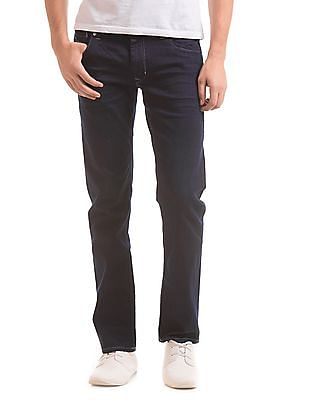 Flying Machine Slim Fit 3D Whiskered Jeans