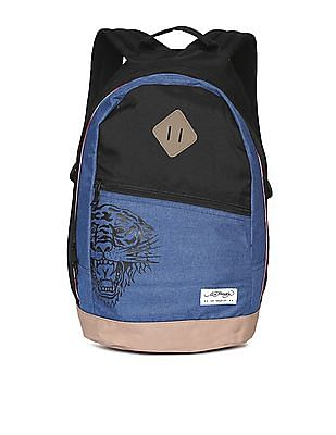 Ed Hardy Colour Block Laptop Backpack