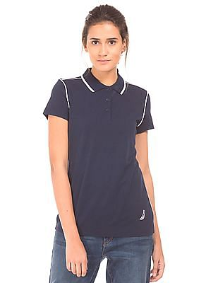 Nautica Solid Classic Fit Polo Shirt