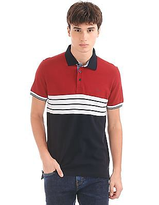 Izod Slim Fit Striped Polo Shirt