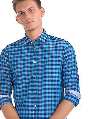 Arrow Sports Manhattan Slim Fit Check Shirt