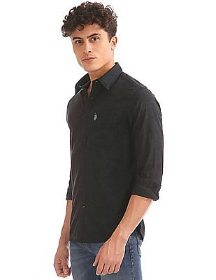 U.S. Polo Assn. Patterned Regular Fit Shirt
