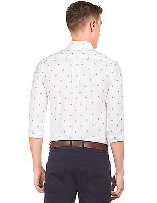 U.S. Polo Assn. Printed Button Down Shirt