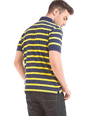 Cherokee Striped Slim Fit Polo Shirt