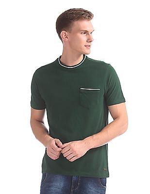 Cherokee Slim Fit Patch Pocket T-Shirt