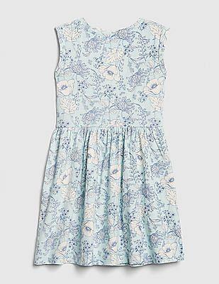 GAP Girls Floral Tank Dress