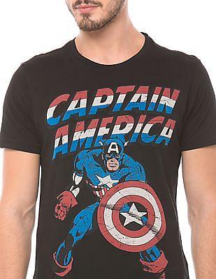 Flying Machine Regular Fit Crew Neck T-Shirt