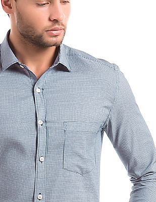 Elitus Puppytooth Weave Regular Fit Shirt