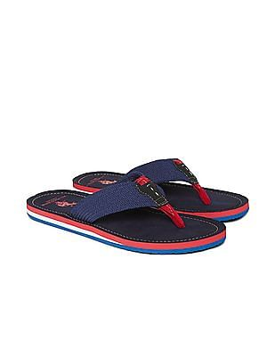 U.S. Polo Assn. Braided V-Strap Sandals