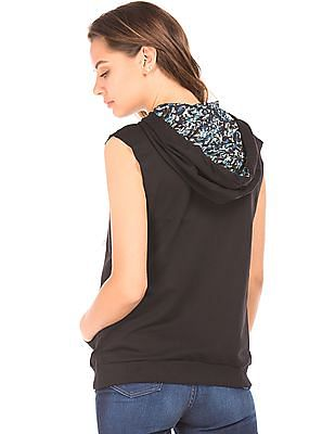 SUGR Hooded Active Top