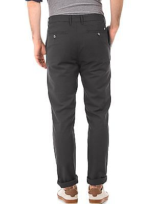 U.S. Polo Assn. Textured Slim Fit Trousers