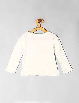 GAP White Toddler Girl City Graphic T-Shirt
