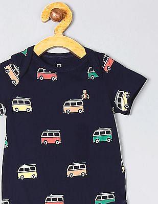 GAP Baby Print Short Sleeve Bodysuit