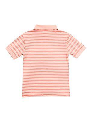 Nautica Kids Boys Short Sleeve Shore Stripe Polo