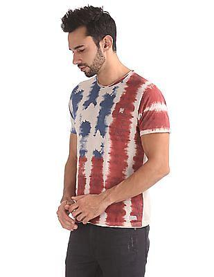 Ed Hardy Slim Fit Distressed Print T-Shirt