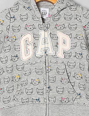 GAP Baby Printed Hoodie Sweatshirt