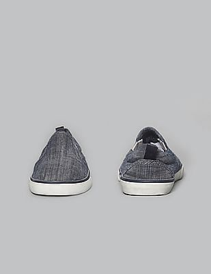 GAP Baby Chambray Slip On Sneakers