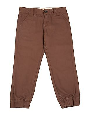 Cherokee Boys Flat Front Woven Joggers
