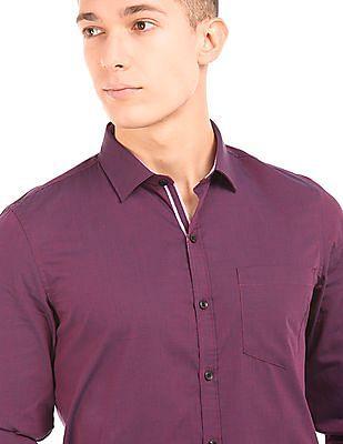 Elitus Two Tone Slim Fit Shirt