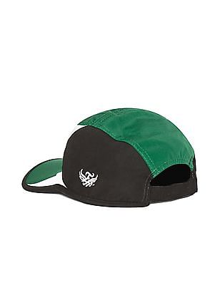 Flying Machine Multi-colour Mesh Panel Colour Block Cap
