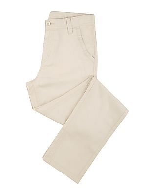FM Boys Boys Flat Front Slim Fit Chinos