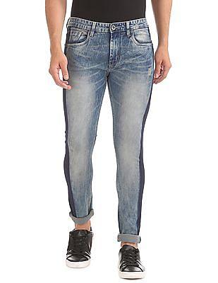 Colt Skinny Fit Panelled Jeans
