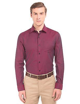 Arrow Slim Fit Tow Tone Shirt