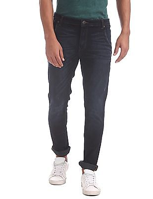 Cherokee Slim Fit Dark Washed Jeans