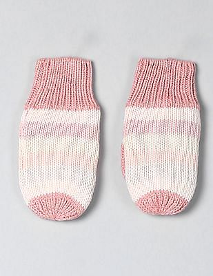 GAP Baby Crazy Stripe Mittens