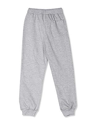 Cherokee Grey Boys Heathered Knit Joggers