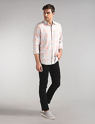 GAP Long Sleeve Linen Shirt