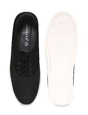 Ruggers Round Toe Mesh Panel Sneakers