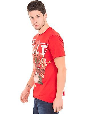 Colt Relaxed Fit Floral Print T-Shirt