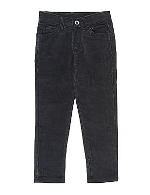 Cherokee Boys Solid Corduroy Trousers