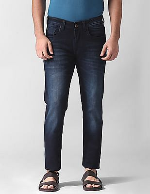 True Blue Modern Fit Dark Wash Jeans