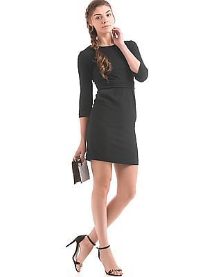 Arrow Woman Crinkled Sheath Dress