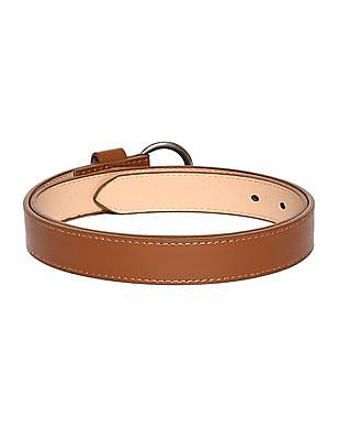 SUGR Metallic Buckle Solid Belt