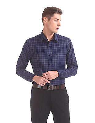 USPA Tailored Tailored Regular Fit Check Shirt