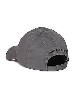 Flying Machine Appliqued Cotton Twill Cap