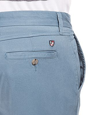 U.S. Polo Assn. Printed Slim Fit Trousers