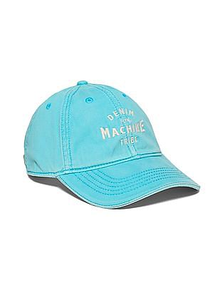 Flying Machine Appliqued Cotton Cap